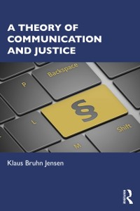Cover Theory of Communication and Justice