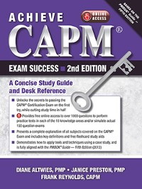 Cover Achieve CAPM Exam Success