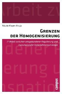Cover Grenzen der Homogenisierung