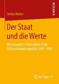 Cover Der Staat und die Werte