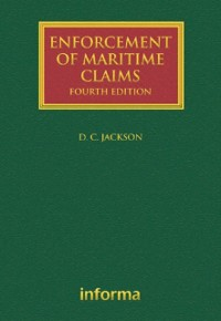 Cover Enforcement of Maritime Claims