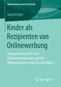 Cover Kinder als Rezipienten von Onlinewerbung