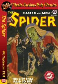 Cover The Spider eBook #60