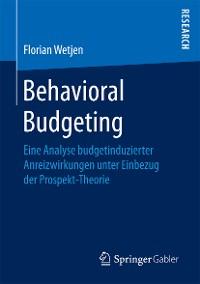 Cover Behavioral Budgeting