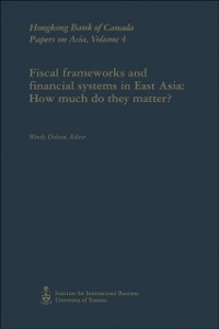 Cover Fiscal Frameworks and Financial Systems in East Asia