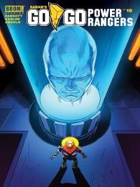 Cover Saban's Go Go Power Rangers, Issue 19