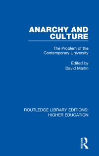 Cover Anarchy and Culture