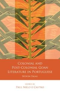 Cover Colonial and Post-Colonial Goan Literature in Portuguese