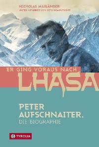 Cover Er ging voraus nach Lhasa