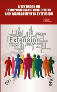 Cover A Textbook on Entrepreneurship Development and Management in Extension