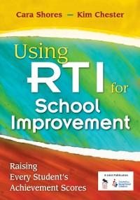 Cover Using RTI for School Improvement