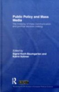 Cover Public Policy and the Mass Media