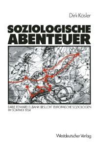Cover Soziologische Abenteuer
