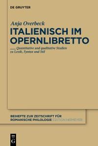Cover Italienisch im Opernlibretto