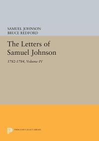 Cover The Letters of Samuel Johnson, Volume IV