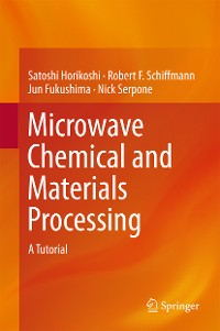 Cover Microwave Chemical and Materials Processing