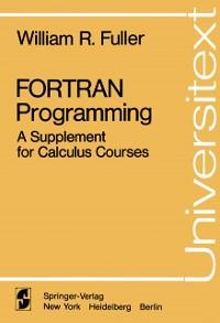 Cover FORTRAN Programming