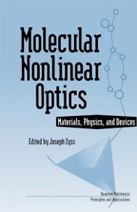 Cover Molecular Nonlinear Optics