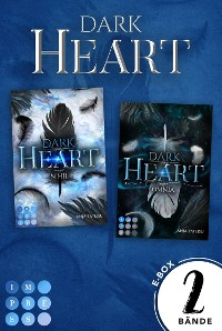 Cover Dark Heart: Sammelband der romantischen Urban-Fantasy-Serie