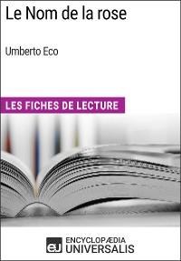 Cover Le Nom de la rose d'Umberto Eco