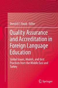 Cover Quality Assurance and Accreditation in Foreign Language Education