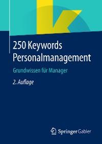 Cover 250 Keywords Personalmanagement