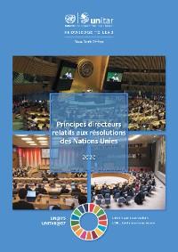Cover Principes directeurs relatifs aux résolutions des Nations Unies 2020