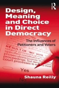 Cover Design, Meaning and Choice in Direct Democracy