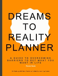 Cover Dreams to Reality Planner