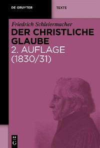 Cover Der christliche Glaube