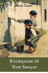 Cover Eventyrene til Tom Sawyer