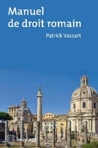Cover Manuel de droit romain