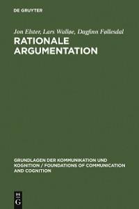 Cover Rationale Argumentation