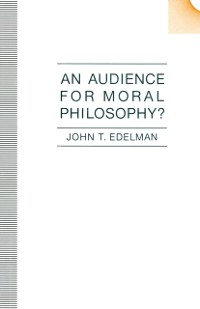 Cover Audience For Moral Philosophy