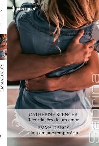 Cover Recordações de um amor - Uma amante temporária