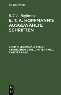 Cover Lebensläufe nach absteigende Linie, Dritter Theil, zweiter Band