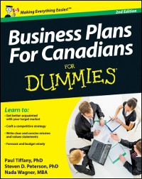 Cover Business Plans For Canadians for Dummies
