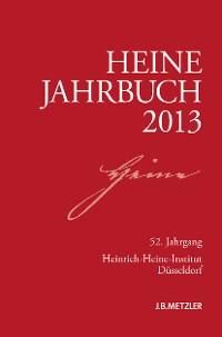Cover Heine-Jahrbuch 2013