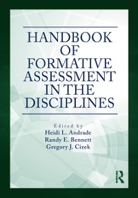 Cover Handbook of Formative Assessment in the Disciplines