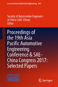 Cover Proceedings of the 19th Asia Pacific Automotive Engineering Conference & SAE-China Congress 2017: Selected Papers