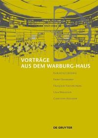 Cover Vorträge aus dem Warburg-Haus