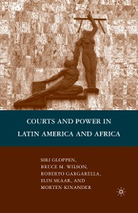Cover Courts and Power in Latin America and Africa
