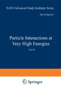 Cover Particle Interactions at Very High Energies