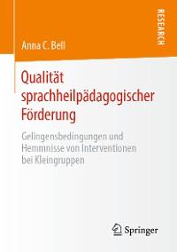 Cover Qualität sprachheilpädagogischer Förderung