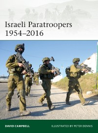 Cover Israeli Paratroopers 1954 2016