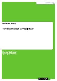 Cover Virtual product development