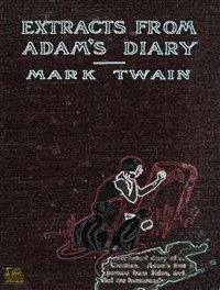 Cover Extracts From Adam's Diary
