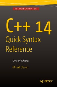 Cover C++ 14 Quick Syntax Reference