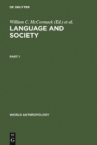 Cover Language and Society