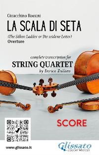 Cover La Scala di Seta (overture) String Quartet - Score